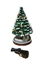 New ListingThomas Kinkade The Heart Of Christmas Tree Bradford Exchange w Coa