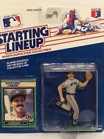 1989 Starting lineup Luis Salazar Baseball figure Card Detroit Tigers toy MLB