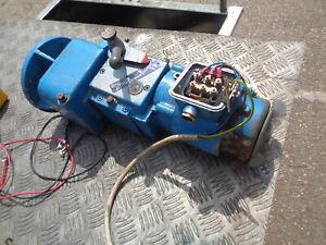 Variable speed Gearmotor Heynau H Trieb 4DNM 3 phase 0.37KW WH03E3278