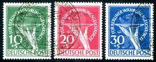 BERLIN 1949 68-70 gestempelt TADELLOS ATTEST BPP 600€(Z8094