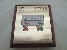 1983 Rare POKKA Nintendo Mario Bros. Game & Watch Game Looks Great Works Great