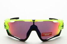 Occhiali da sole da uomo con montatura in giallo Oakley a tecnologia lenti specchio