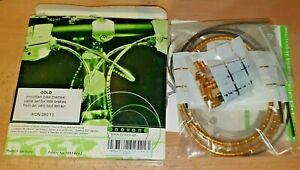 Nokon Switch Brake Cable-Set Road Bike MTB Silver Shimano Bowden Cable