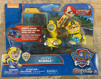 Paw Patrol Sea Patrol  Light Up Rubble with Pup Pack and Mission Card