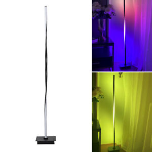 Nordic Style Floor Lamp, Romantic Bedside Atmosphere Light, RGB Colorful Lamp