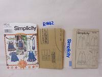 Patrón de costura simplicidad Vestido del niño 8347A
