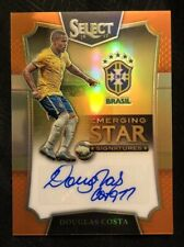 2016-17 Panini Select Douglas Costa Emerging Star Orange Signature #75/75 (Rare)