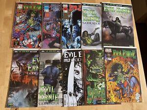 Evil Ernie Miscellaneous Lot Of 16 Books Chaos Comics