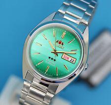 NWT ORIENT 3 Stars Steel Automatic Watch FAB00007F