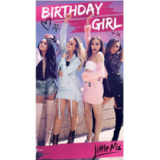 Little Mix Birthday Girl Card