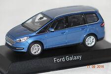 Ford Galaxy 2015 blau metallic 1:43 Norev neu + OVP 270539