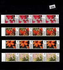 // 4X ANTIGUA & BARBUDA - MNH - NATURE - PLANTS - FLOWERS - FLORA