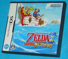 The Legend of Zelda Phantom Hourglass - Nintendo DS NDS - JAP Japan