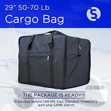 62 INCH 50 - 70 Lb BLACK DUFFEL BAG TRAVEL LUGGAGE SUITCASE BRIEFCASE TOTE BAG