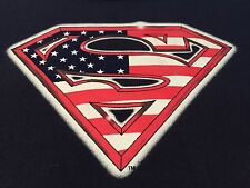 Warner Brothers Superman T Shirt XL American Flag