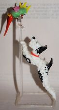 Bimini Glass Dog (Breed) and Parrot on a Pole