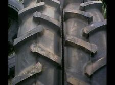 TWO 18.4X26 FORD JOHN DEERE R 1 Bar Lug 12 ply Tube Type Rear Farm Tractor Tires
