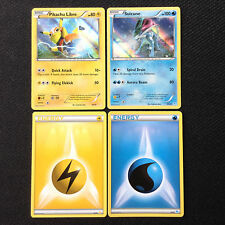 Pokemon Cards PIKACHU LIBRE 30/30 & SUICUNE 30/30 - 2016 TRAINER KIT HOLO PROMOS