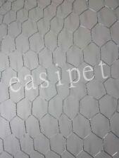 Poulet Lapin Grillage Galvanisé Clôture Bordure Clôture filet 38 mm x 30 m