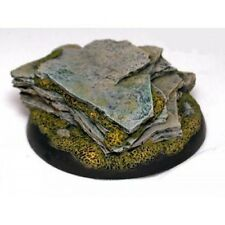Ginfritter's Gnomish Workshop GFB005 50mm Stone Outcropping Base Warmachine