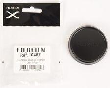 Fuji Bouchon D'objectif Aluminium Noir pour X100 X100s et X100t