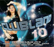 3 CD CLUBLAND `Vol. 10` Neu Cascada, Energy 52,Big Bass