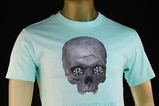 DIAMOND SUPPLY CO MINT MEN'S PREMIUM GRAPHIC T-SHIRT W/ SKULL size Medium
