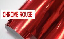 COVERING ADHESIFS VINYLE CHROME ROUGE 152 X 50 cm