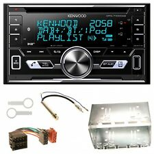 Kenwood DPX-7100DAB DAB+  USB MP3 Einbauset für Golf 4 Passat Polo Ibiza 6L