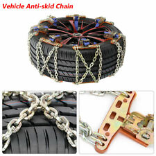 Wheel Tire Anti-skid Chains Snow Mud Ice Car Truck SUV Emergency Winter