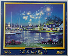 jigsaw puzzle 500 pc Rejoice fireworks William S Phillips pastime puzzles