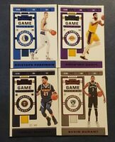 2019-20 Panini Contenders Basketball Game Ticket Red Green Blue Foil You Pick