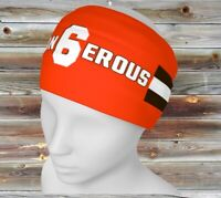 BAKER MAYFIELD Dangerous 6 CLEVELAND BROWNS Headband