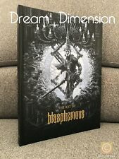 THE ART OF BLASPHEMOUS EXCLUSIVE KICKSTARTER BACKER EDITION SWITCH PS4