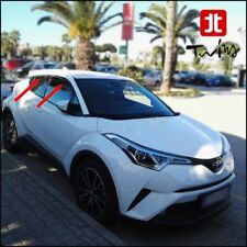 Set 4 Deflettori Aria Antiturbo Oscurati Toyota C-HR dal 2016 CHR