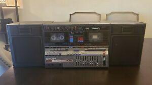 Vintage Sharp GF-810 (D)  Portable HI-FI Component System