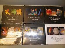 EL MUNDO SUBMARINO DE PHARMAMAR VOLUMES 4-9, 2005 Pharmaceuticals Sea Life Fish