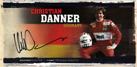 Christian Danner (DEU) Zakspeed 1987 Formel 1 original signiert/signed !!