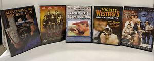 Outlaws Westerns Double Barrel Shotgun Trap Shooting Bandits Documentaries DVD's