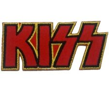 KISS Iron On Sew On Embroidered Patch Rock Biker metal band