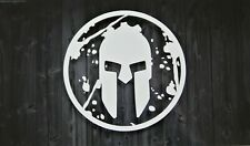 Spartan Race Distressed Warrior Premium Vinyl Decal Sticker lasts 6-8 years