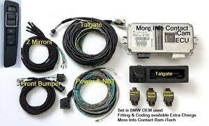 BMW iCAM 360 surround camera retrofit set kit F25 F26 F15 F16 (Fitting & Coding
