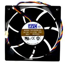 AVC DS12025B12H 12025 12V 0.75A CPU power supply high air volume pwm fan