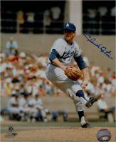 Claude Osteen Signed 8X10 Photo Autograph LA Dodgers Road Pitching Auto COA