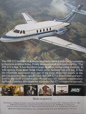 6/1967 PUB HAWKER SIDDELEY AVIATION DH 125 EXECUTIVE AIRCRAFT ORIGINAL AD
