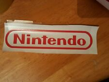 Nintendo logo wall/ window/ laptop sticker/decal console