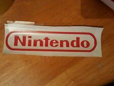 Nintendo logo wall/ window/ laptop sticker/decal console