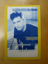 Harry Connick Jr. - Working Personnel - Tour Backstage Pass