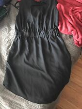 Brass Clothing Band Dress Black Large Anthropologie