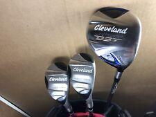 Cleveland Fairway Wood & Hybrid 3 Pc Golf Set Launcher DST 3 Wood / 3 & 4 Hybrid